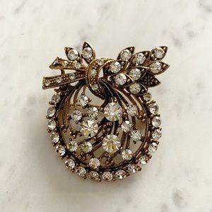 Accessories - Vintage Crystal Cluster Brooch/ Pendant